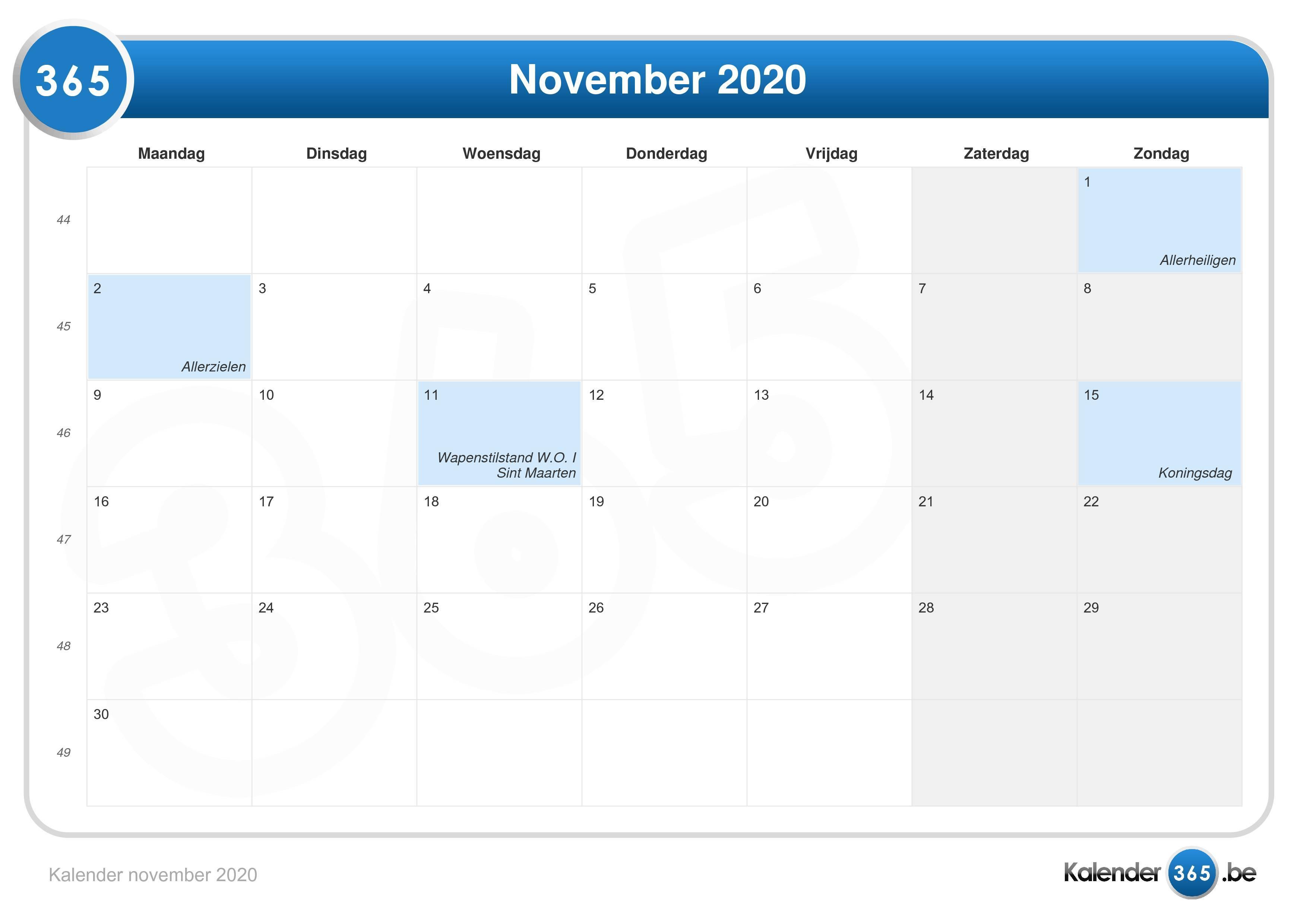 14 November 2020